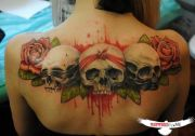beautiful upper tattoos