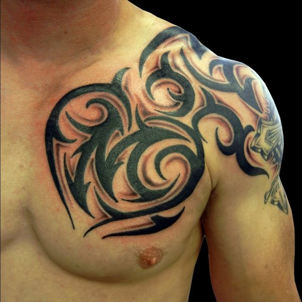 20 Chest Tribal Tattoos Aries Pictures And Ideas On Carver Museum