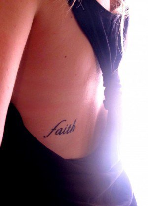 20 Faith Tattoos For Girls On Side Ideas And Designs