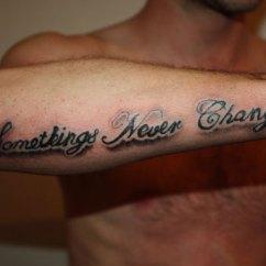 Girl Power Tattoo Quotes Jeep Cj Dash Wiring Diagram 43+ Forearm Word Tattoos