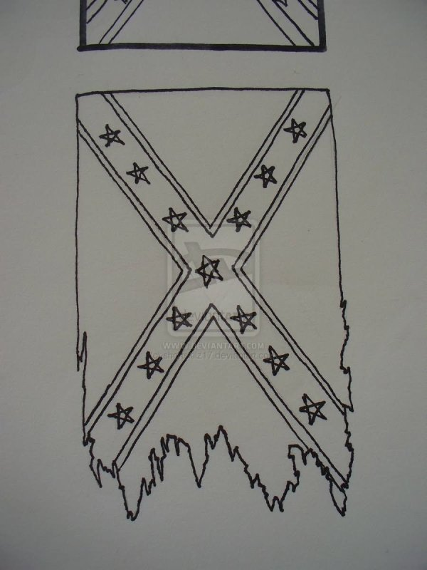 20 Confederate Flag Tattoos Black And Gray Ideas And Designs