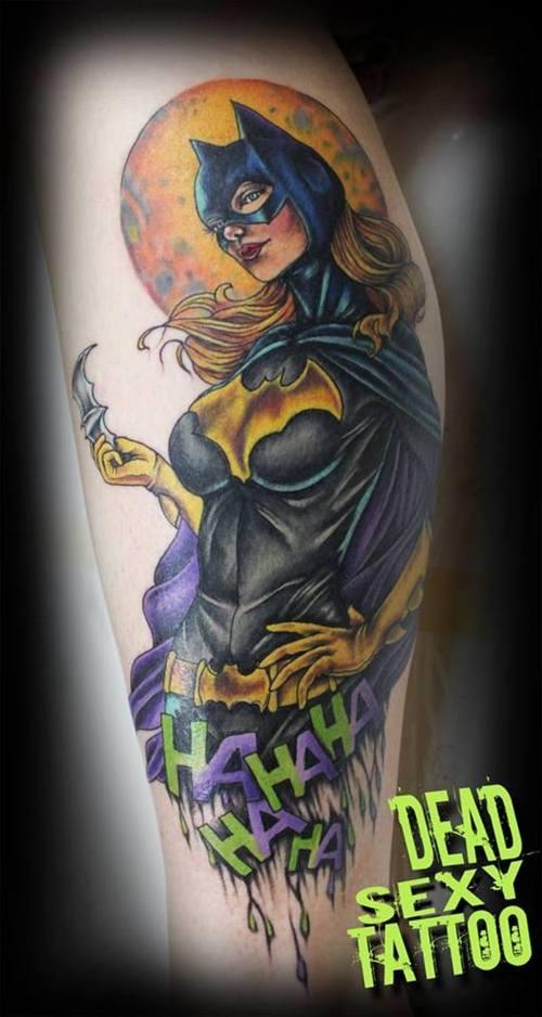 18 Mind Blowing Batgirl Logo Tattoos