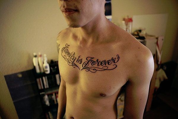 Family Is Forever Tattoo For Men