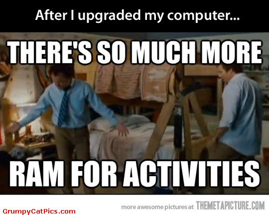 after i upgraded my