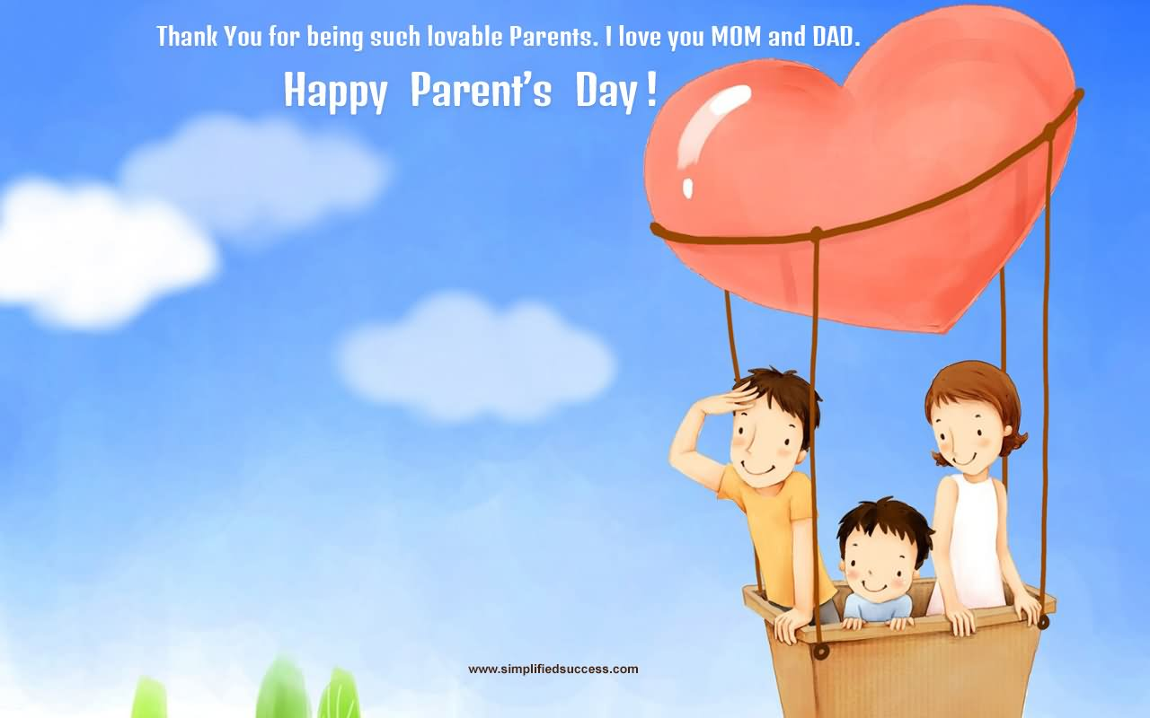 42 Awesome Parents Day Wish Picture And Images