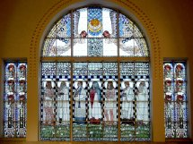 Koloman Moser Stained Glass