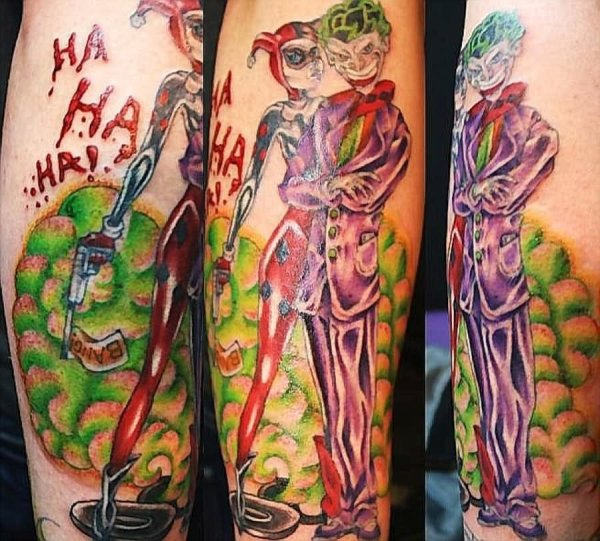 20 Harley Quinn And Joker Couple Tattoos Pictures And Ideas On Meta