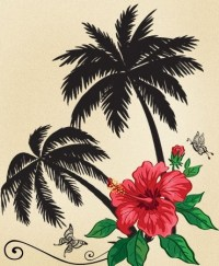 13+ Lovely Palm Tree Tattoos Designs
