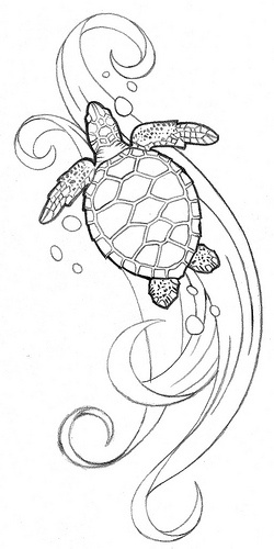 22+ Awesome Turtle Tattoo Designs And Ideas