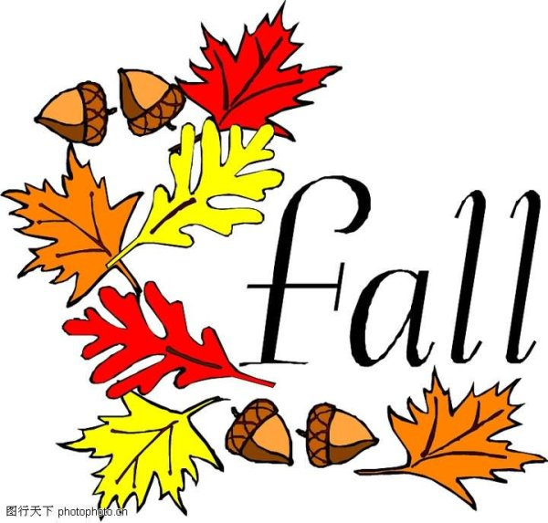 day of autumn clip art