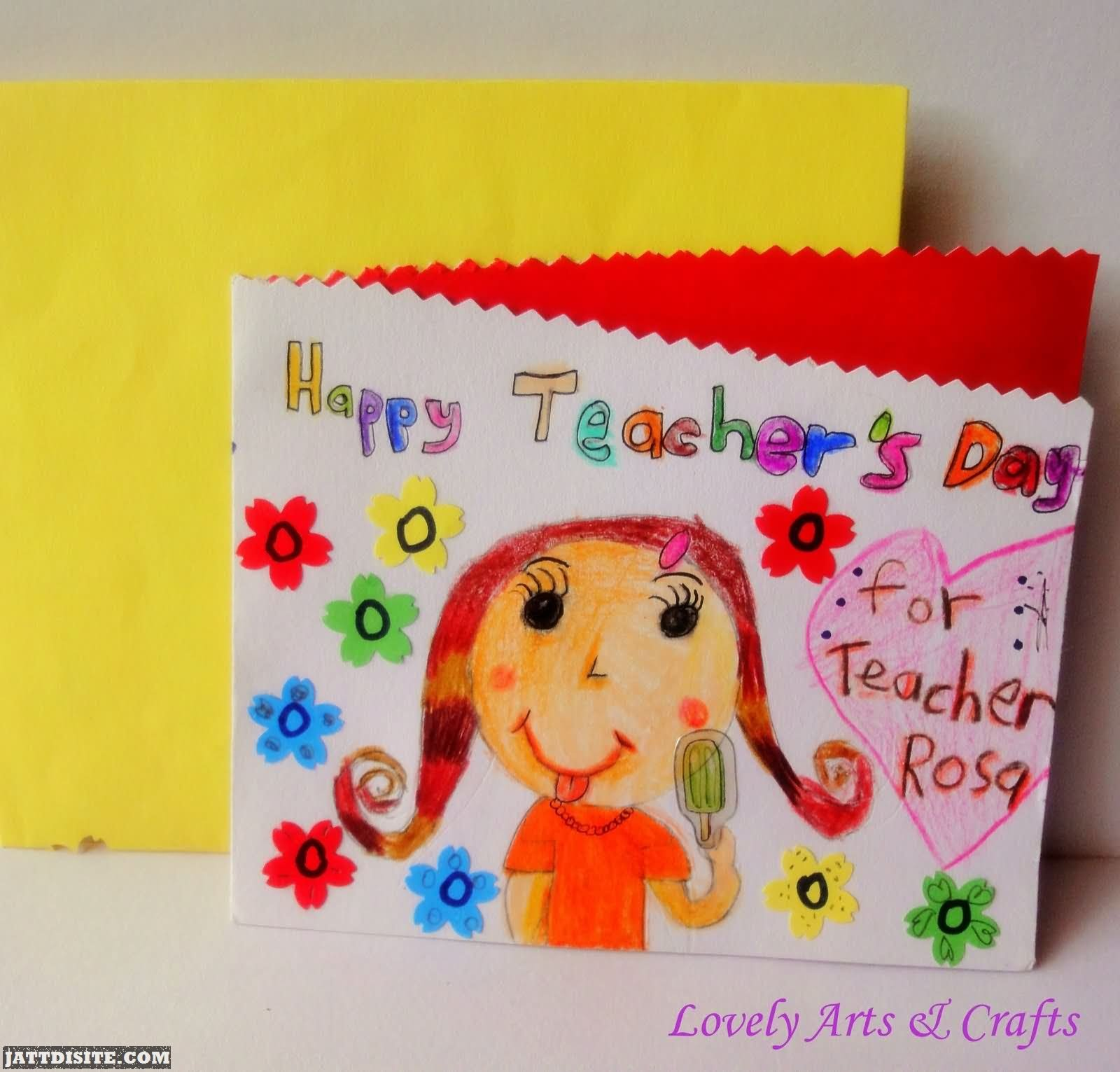 50 Beautiful Teachers Day Greeting Card Pictures And Images