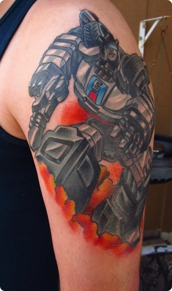 20 Transformers Back Tattoos Ideas And Designs