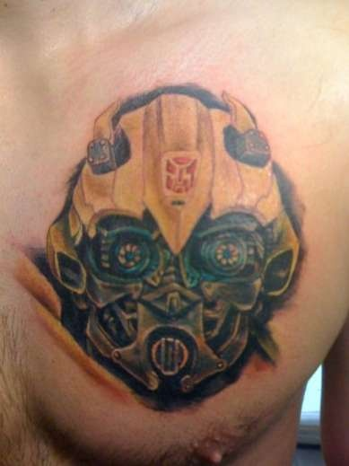 20 Transformer Chest Tattoos Ideas And Designs
