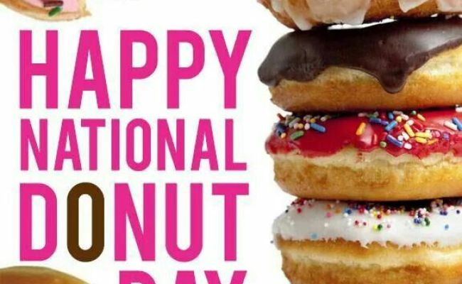 65 Amazing National Doughnut Day Wishes Pictures And Images