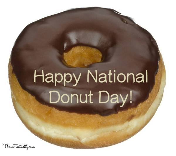 Beautiful National Doughnut Day 2016 Greeting