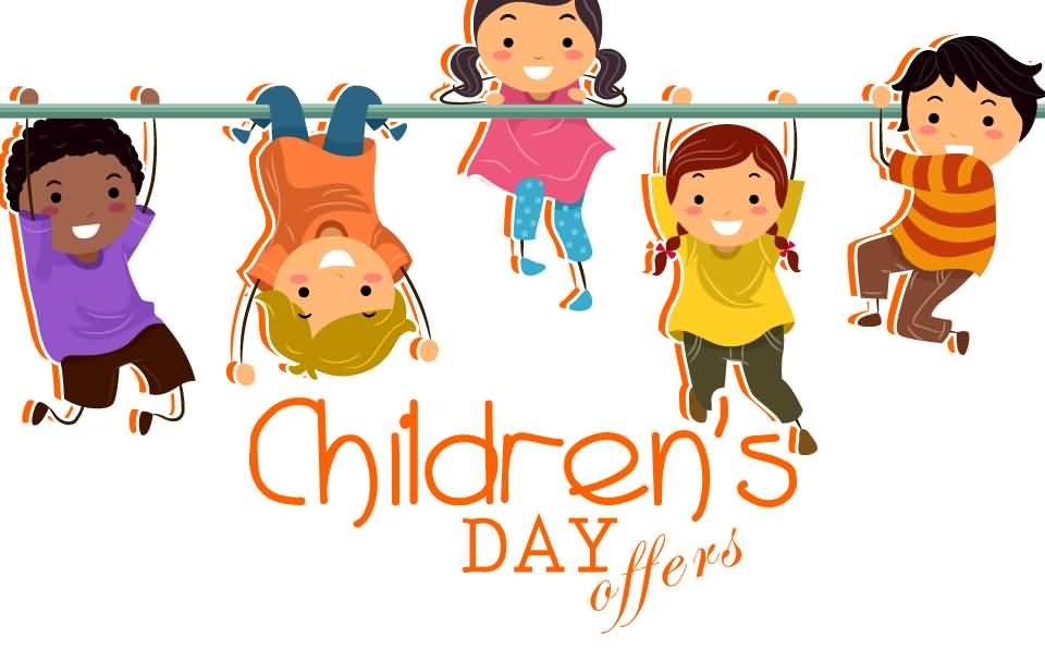 Cute Toddlers Playing Cartoon Wallpaper Happy Children S Day Cartoon Kids Picture