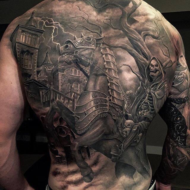 Knight Tattoos Patterns