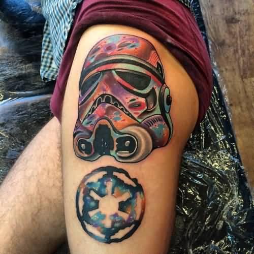 Traditional Stormtrooper Tattoo Design