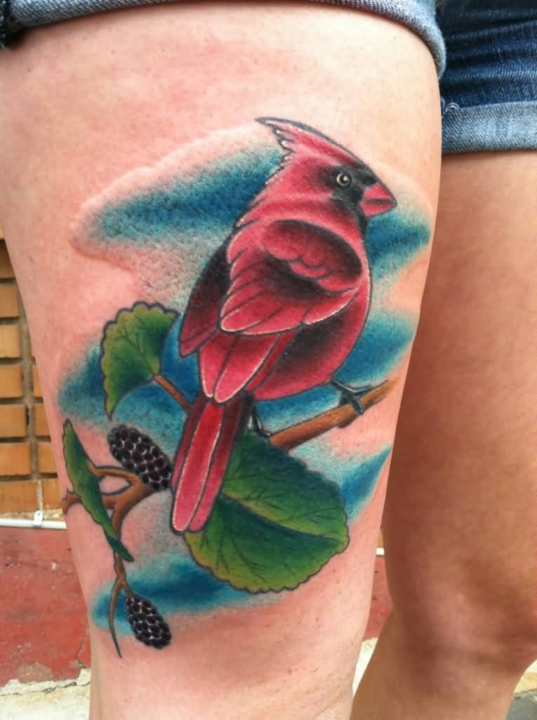 20 Cute Cardinal Tattoos Ideas