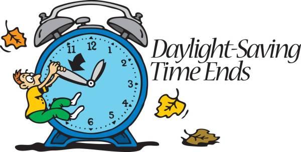 40 daylight saving time ends