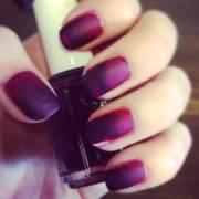 beautiful ombre nail art