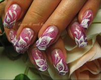 51 Very Beautiful 3d Flowers Nail Art Designs