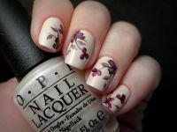 Adorable Flowers Nail Art Design