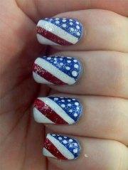 american flag glitter fourth of