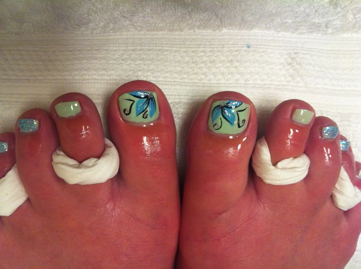 Flower Designs For Toes