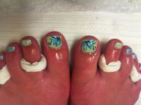 Flower Designs For Toes | www.pixshark.com - Images ...