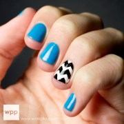 stylish accent chevron