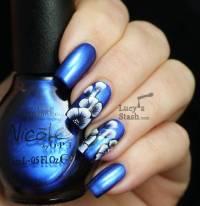 55+ Most Stylish Flower Nail Art Design Ideas