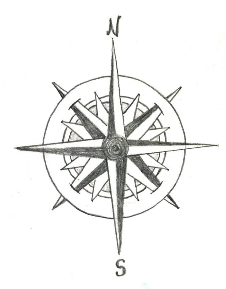 Drawn Anchor Navy Anchor