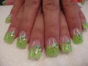 stylish french tip nail