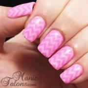 beautiful pink chevron