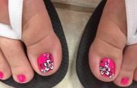 50+ Most Beautiful And Stylish Flower Toe Nail Art Design ...