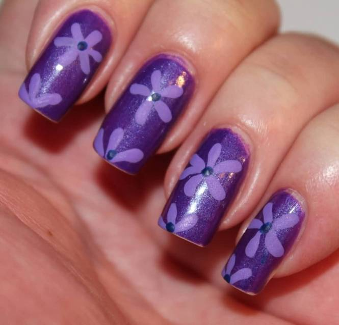 3d Flower Nail Art Two