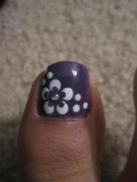 50+ Most Beautiful And Stylish Flower Toe Nail Art Design