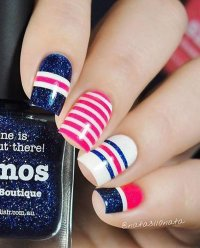 50+ Adorable Fourth Of July Nail Art Ideas