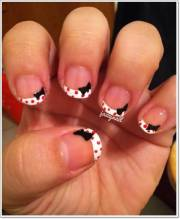 latest french tip nail art