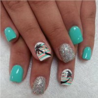 55+ Most Beautiful Acrylic Nail Paint Design Ideas