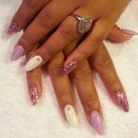 Almond Acrylic Nails Designs | www.pixshark.com - Images ...