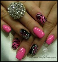 60 Best Pink Acrylic Nail Art Designs