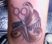 awesome comb tattoos