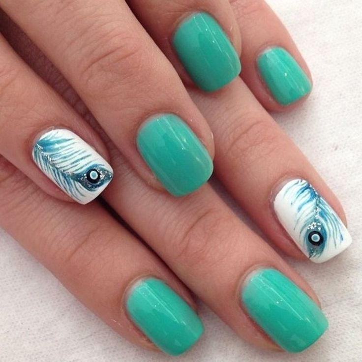 55 Most Beautiful Acrylic Nail Paint Design Ideas