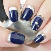amazing metallic nail art