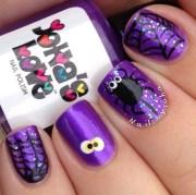 stylish acrylic nail art