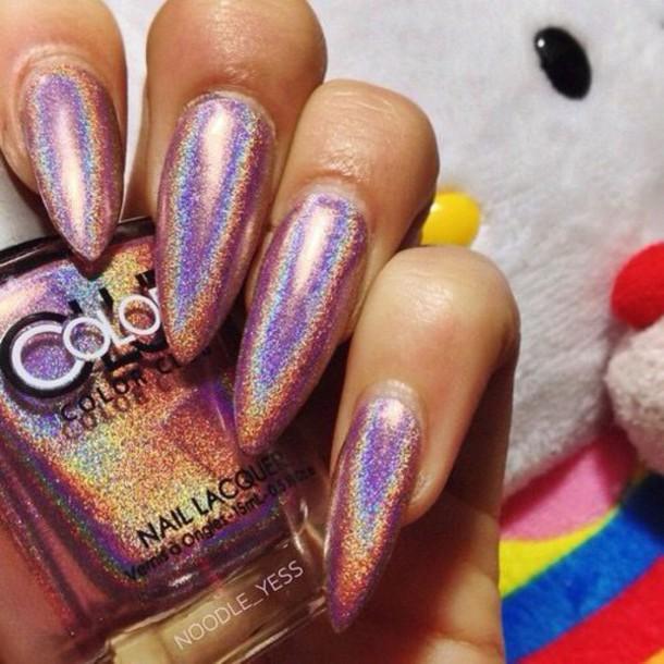 55 Most Amazing Metallic Nail Art Design Ideas