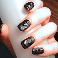 55+Most Stylish Matte Nail Art Designs