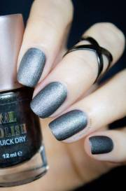 beautiful matte nail art